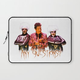 David S. Pumpkins - Any Questions? Laptop Sleeve