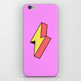 Thunderbolt iPhone Skin