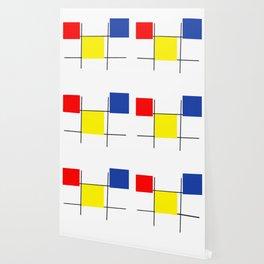 Colourful design squares Wallpaper