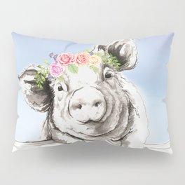 Petunia Pig Pillow Sham