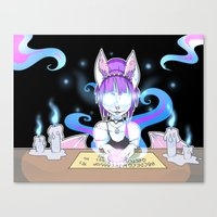 occult Canvas Prints featuring Occult by JekyllDraws