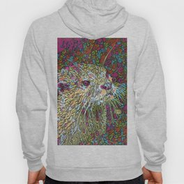 Abstract Otter Hoody