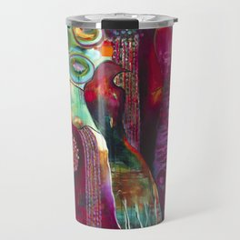 """True Nature"" Original Painting by Flora Bowley Travel Mug"