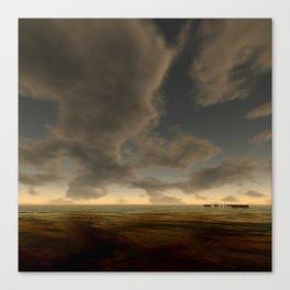 Bronze Waters Canvas Print