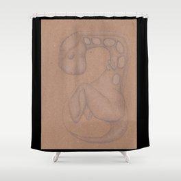 Specimen #18f (fetal) Shower Curtain