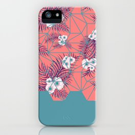 Tropical Fluo Tiles #society6 #decor #buyart iPhone Case