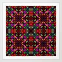 mosaic Art Prints featuring Mosaic by David Zydd