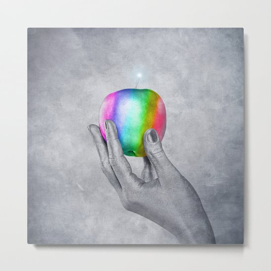 RAINBOW PROMISE - Abduction from paradise Metal Print