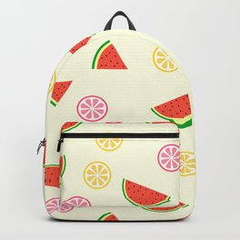 Lemons and watermelons Backpack