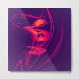 Distorsion Metal Print