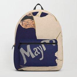 """Henri de Toulouse-Lautrec """"May Milton"""" Backpack"""