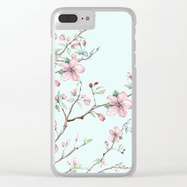 Apple Blossom #society6 #buyart Clear iPhone Case