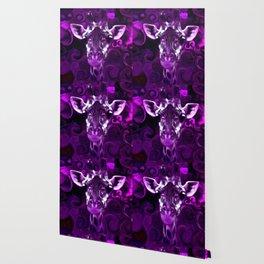 Closeup Purple Wallpaper