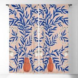 Leopard Vase Blackout Curtain