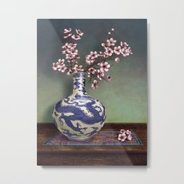 A TOUCH OF MING Metal Print