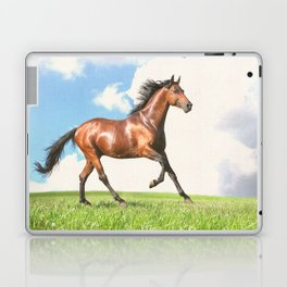 Horse print horse photography equestrian art poster Laptop & iPad Skin