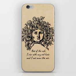 Sylvia Plath - Lady Lazarus iPhone Skin