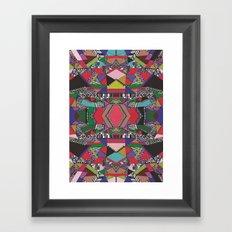 AFRICAN MOTIF  Framed Art Print