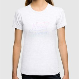 Nasty Woman Rainbow Flag T-shirt