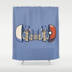 Poketryoshka - Water Type Shower Curtain