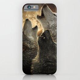 Wolf Trinity iPhone Case