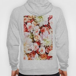 Floral Feature Hoody