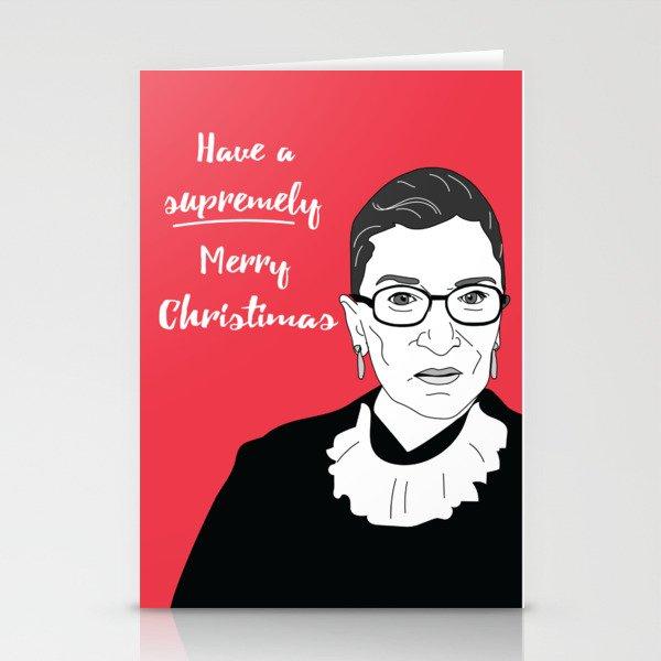 RBG Christmas Stationery Cards