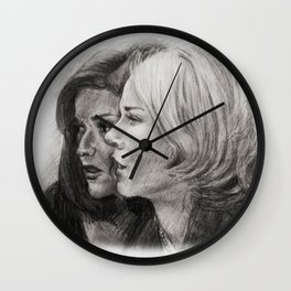 MULHOLLAND DRIVE - BETTY AND RITA Wall Clock