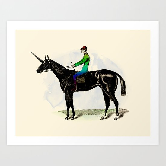 An Unfair Advantage Art Print