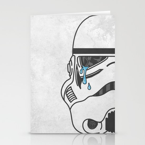 Tears of the Trooper Stationery Cards
