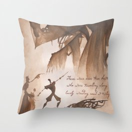 The Tale of Three Brothers Throw Pillow