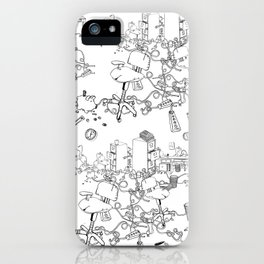 Cubicle War iPhone Case