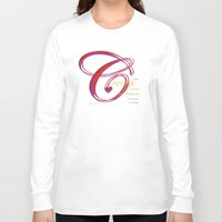 courage Long Sleeve T-shirts featuring Courage by ZooLN Art