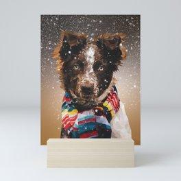 Dog Scarf Mini Art Print