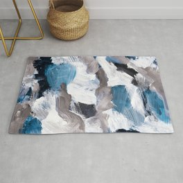 abstract painting VI Rug