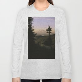 Mount Adams in the Distance. Long Sleeve T-shirt
