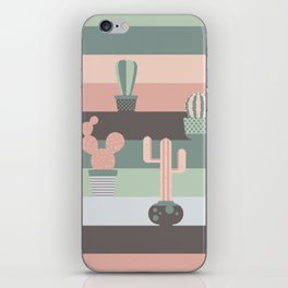 cacti colors iPhone Skin