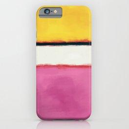 Rothko Inspired #24 iPhone Case