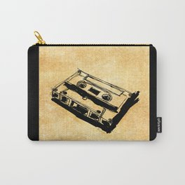 Retro Cassette Tape Carry-All Pouch