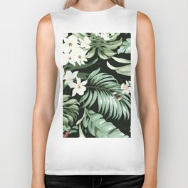 Jungle blush Biker Tank