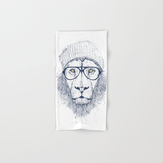 Cool lion Hand & Bath Towel