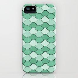 Mermaid Scales - Green iPhone Case