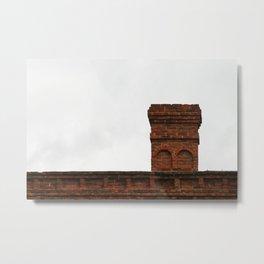 Old Chimney Metal Print