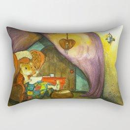 Home in the Cozy Caravan Rectangular Pillow