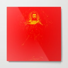 Kuan Yin Love Metal Print