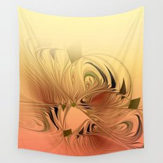 window curtain fractal design -119- Wall Tapestry