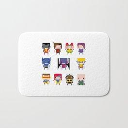 Pixel X-Men Bath Mat
