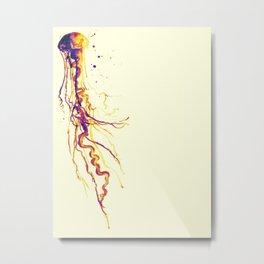 Electric Jelly Metal Print