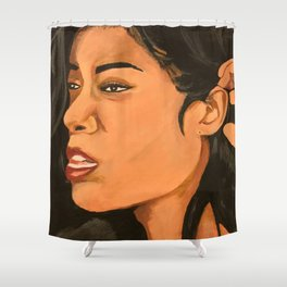 Mila J Music Block Shower Curtain