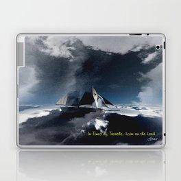 On Troubled Seas Laptop & iPad Skin